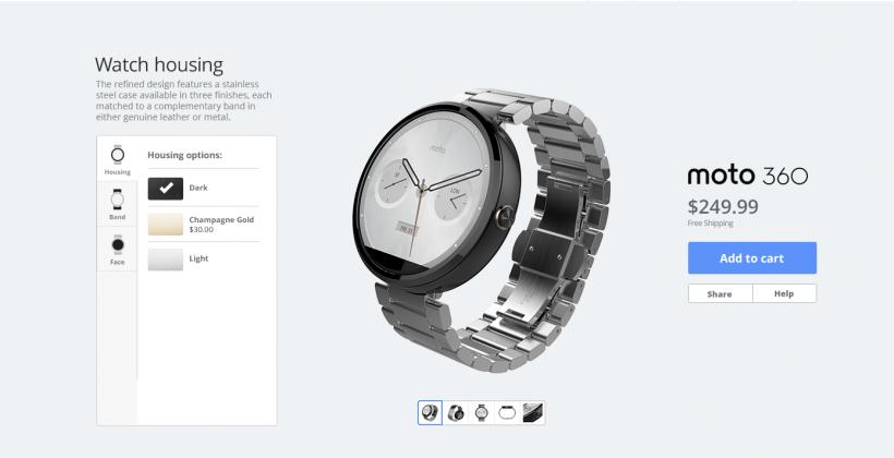 Motorola will let you 'Moto Make' a Moto 360 soon