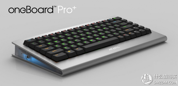 Clicking away on a OneBoard Pro+ Keyboard PC