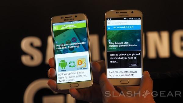Galaxy S6 Edge vs  Note Edge