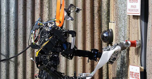 SAFFiR, The Navy's firefighting Robot is all fired up