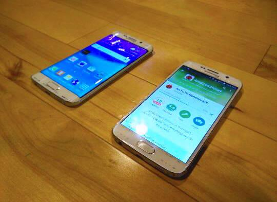 Galaxy S6, S6 Edge show up side by side in leaked pics