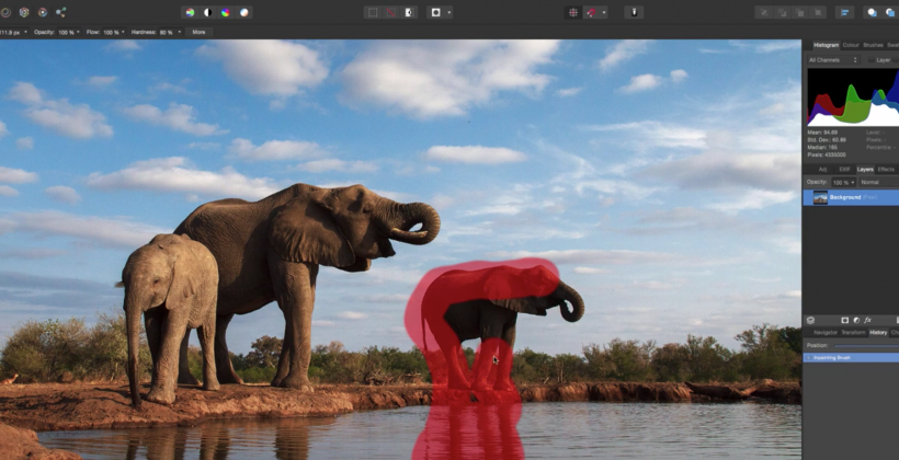 Affinity Photo takes on Photoshop, currently in beta for OS X