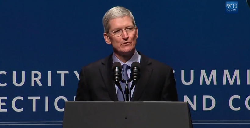 Tim Cook talks security, Apple Pay hits national parks