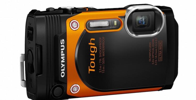 Olympus Stylus Tough TG-860 focuses on rugged selfies