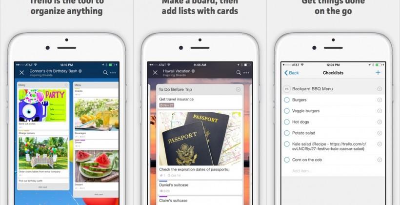 Trello reports 7 million users as app updates on iOS