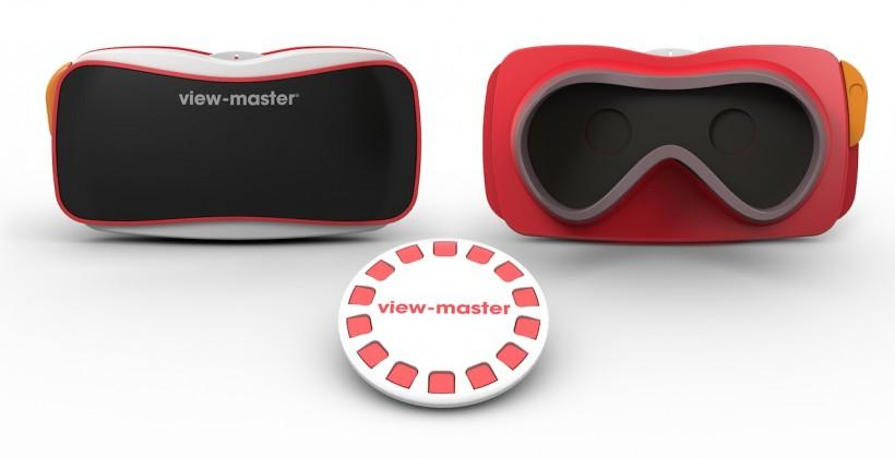 Mattel reboots View-Master with Google Cardboard magic