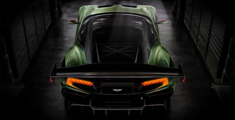 Aston Martin announces their 800-bhp Vulcan supercar
