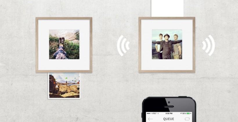 Wundershine blends print and digital for odd photo frame
