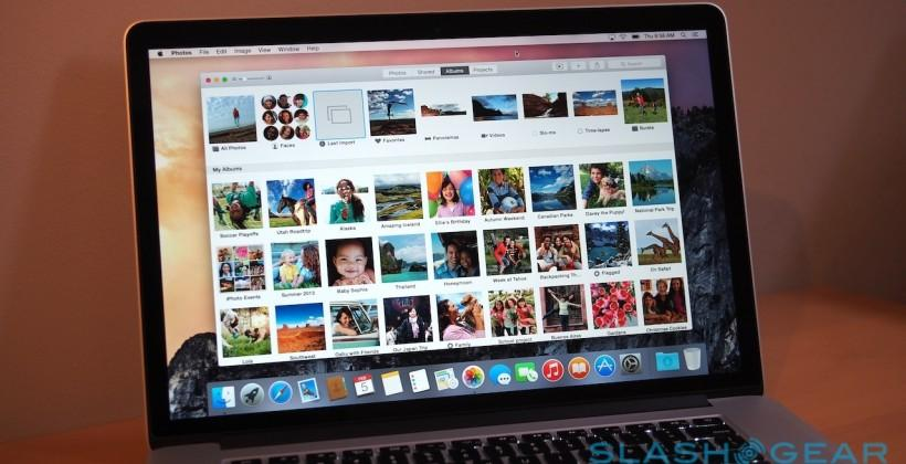 Apple Photos hands-on: Yosemite's iCloud-loving image app