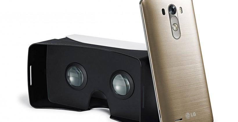 LG G3 Google Cardboard comes for free