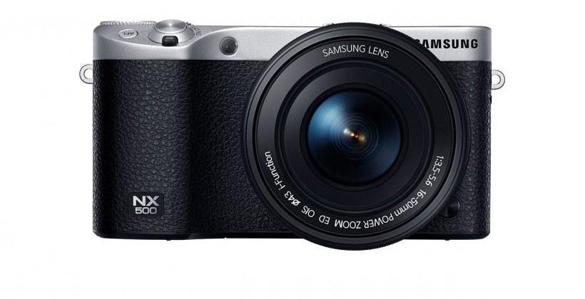 Samsung NX500 tops NX1 with 4K release