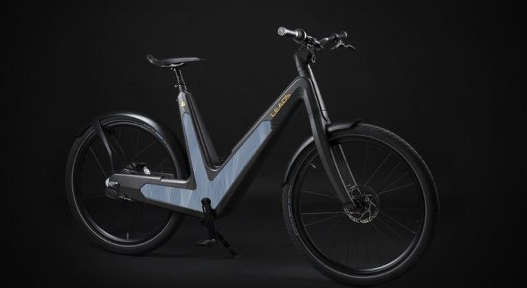 Leaos Solar electric bicycle has integrated solar panels