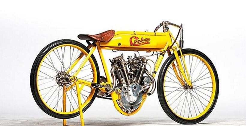 Steve McQueen's 1915 Cyclone motorcycle heads to auction