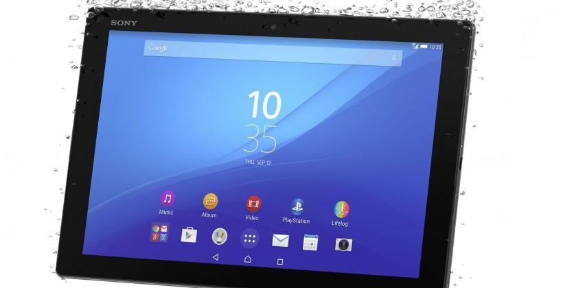 Xperia Z4 tablet keeps Sony in 2K high-end tablets