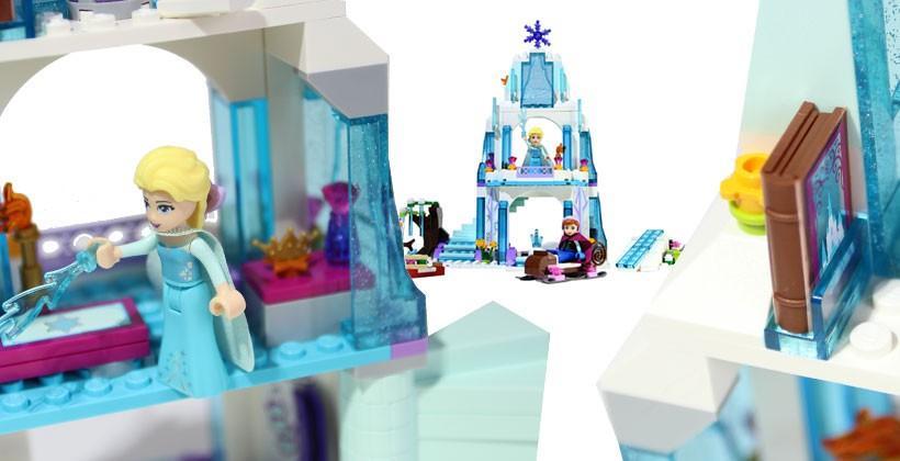 Elsa's Sparking Ice Castle LEGO Review