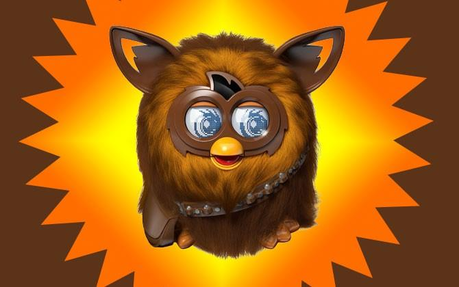Behold, Furbacca: the Furby Chewbacca