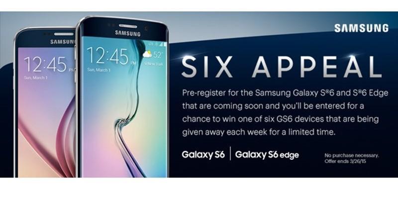 Samsung Galaxy S6, S6 Edge promo image leaked