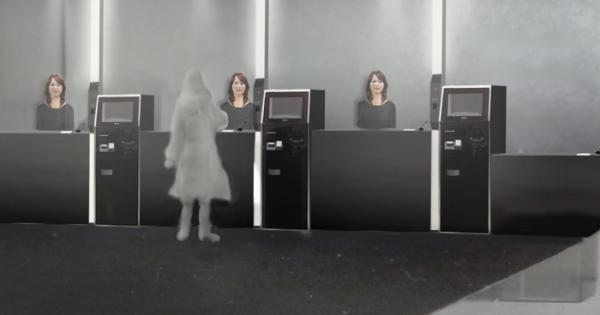 Japan's Henn-na hotel will greet you with human-like robots
