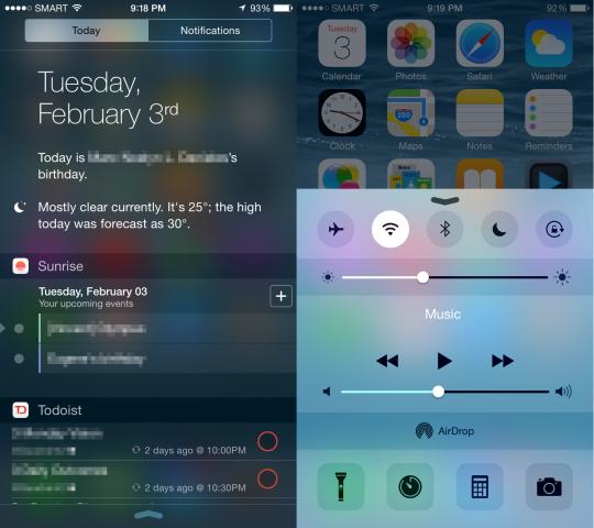 Android tweaks that bring a taste of iOS 8 - SlashGear