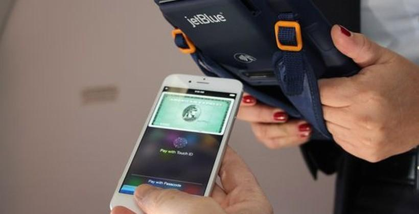 JetBlue and Apple to bring Apple Pay to select flights