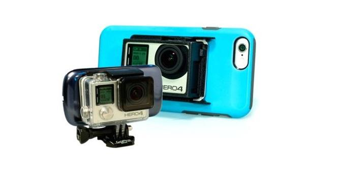 CAMpanion mounts GoPro cameras on smartphones