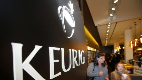 Customers shop at the newly opened Keurig retail store Burlington