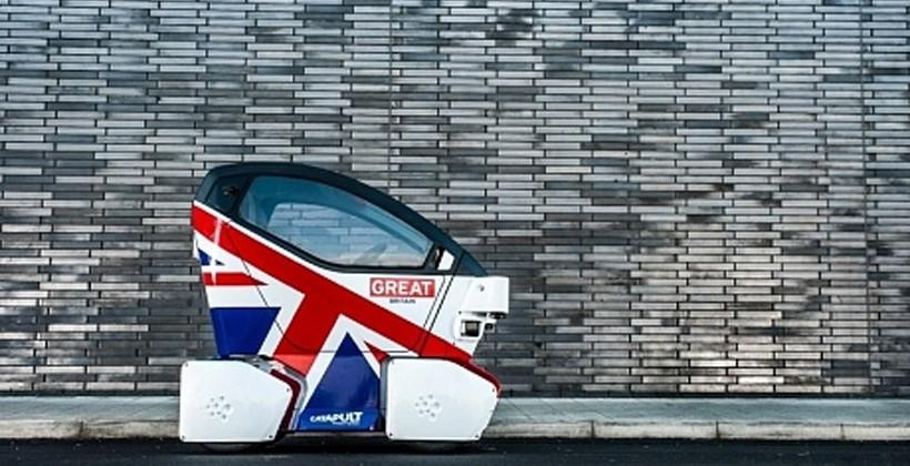 Lutz Pathfinder is the UK's First Driverless Car