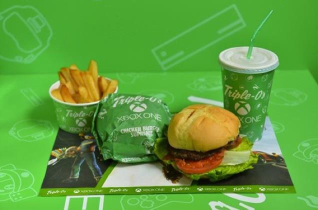 Microsoft and Triple-O's brings Xbox One burger to Hong Kong