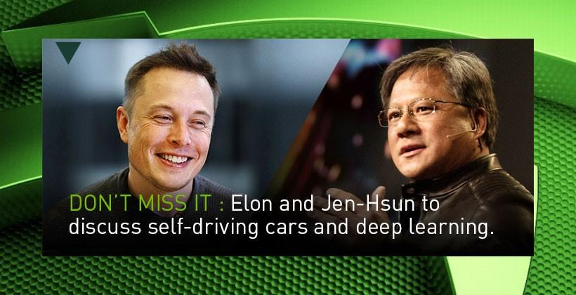 Elon Musk to talk self-driving cars and deep learning at GTC 2015