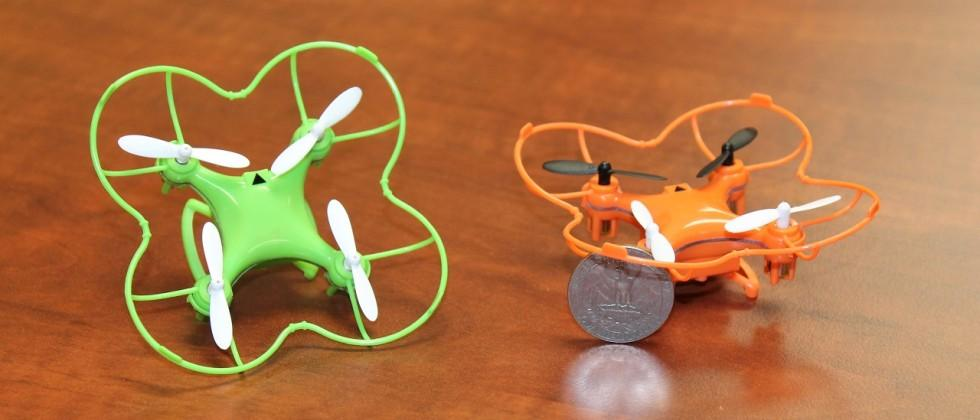 Nano Drone quadcopter fits in your palm