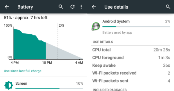 Your phone's power usage can reveal where you've been