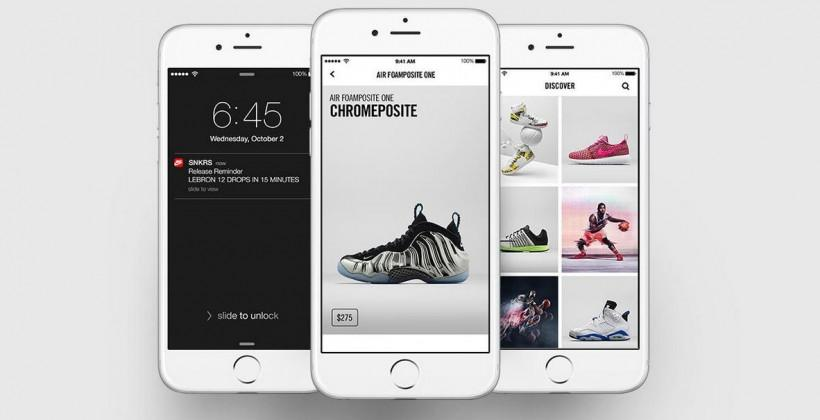 Nike steps up with new SNKRS app