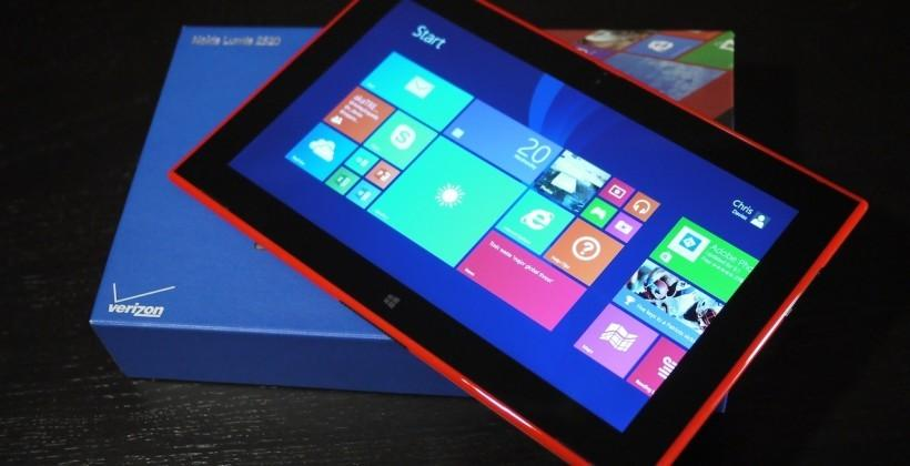 Windows RT is dead, again, this time with the Lumia 2520