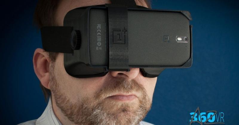 3D printed VR headset for OnePlus One has adjustable lenses
