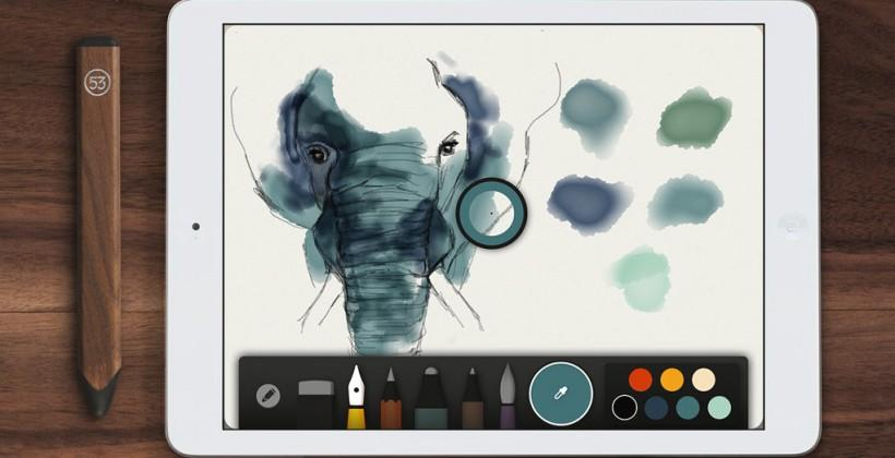 Paper goes free as FiftyThree pushes Pencil for iPad art