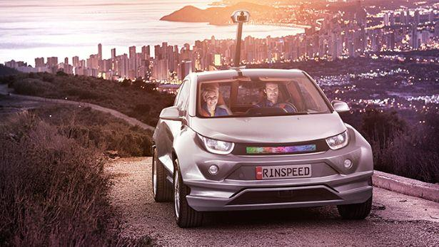 Rinspeed Budii self-driving car is a mix of tech and strange