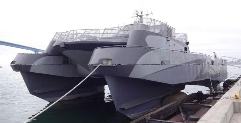 Lockheed Martin Sea Slice experimental ship can be yours