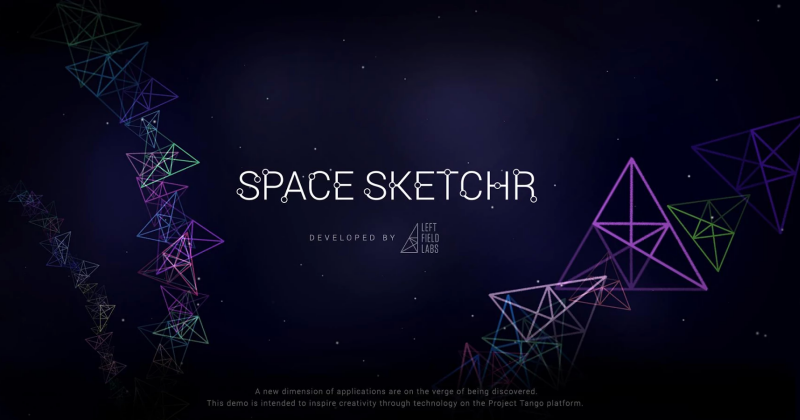 Space Sketchr puts Project Tango's 3D sense to the test