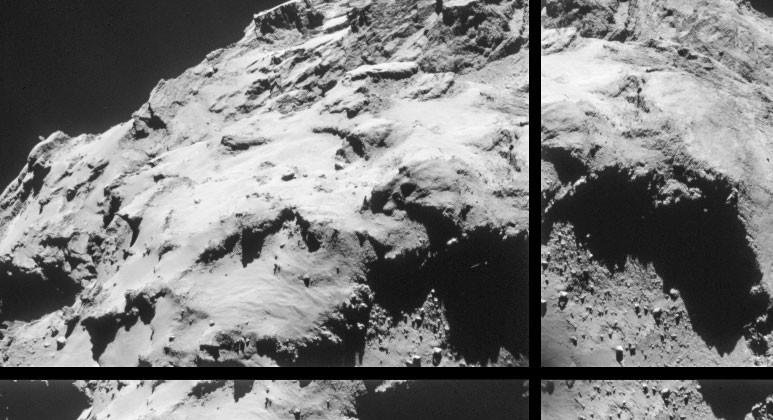 Rosetta comet photos: up close and personal with 67P
