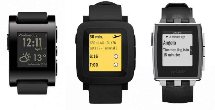 Pebble Color edition: this is (likely) the new lineup