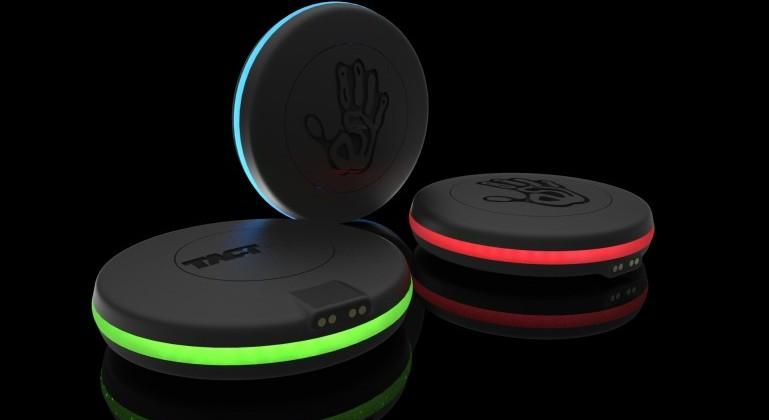 TactPuck concept lets users send 'sensory messages'