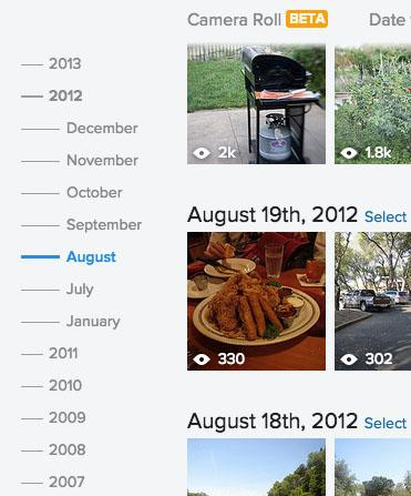 Flickr debuts Camera Roll: a new, organized interface