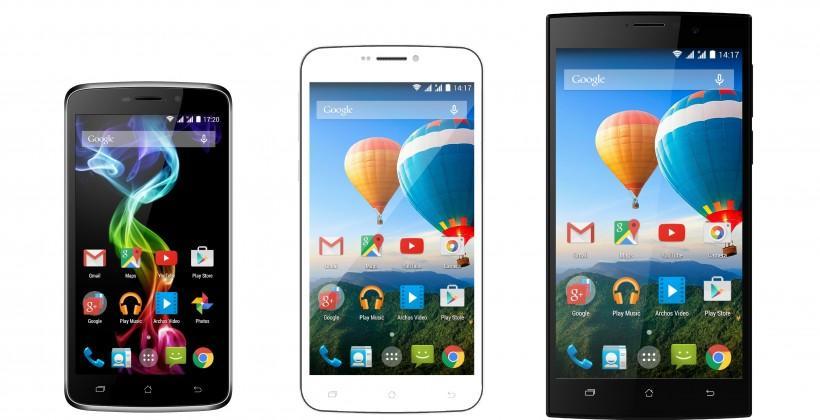ARCHOS smartphones bring Mediatek to MWC 2015