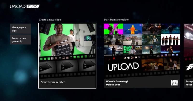 Xbox One Upload Studio major update adds effects, templates