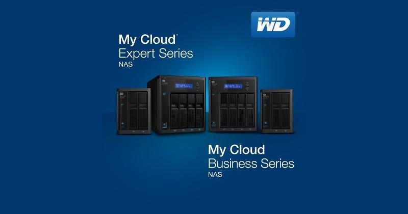 Western Digital adds four members to My Cloud NAS products
