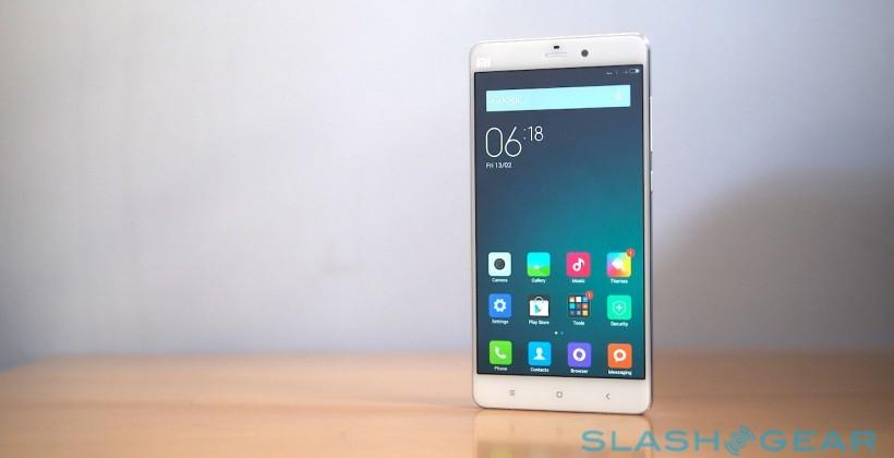 Xiaomi Mi Note hands-on: More than just an Apple clone