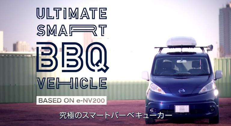 Nissan introduces the Ultimate Smart BBQ Vehicle concept car