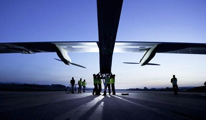 Solar Impulse 2 launches its first solar-powered flight around the world