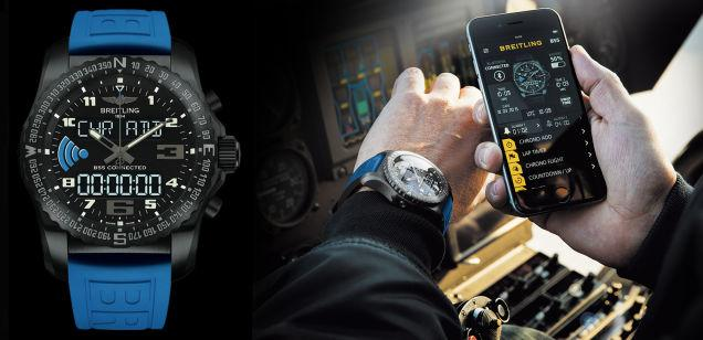 Breitling enters the smartwatch market with its B55 Connected