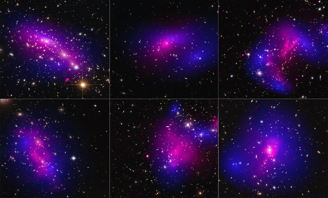 The hunt for dark matter: NASA's Hubble, Chandra uncover new clues